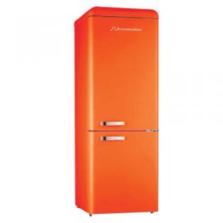 Chladnička komb. Schaub Lorenz SL 300 O CB oranžová lesklá