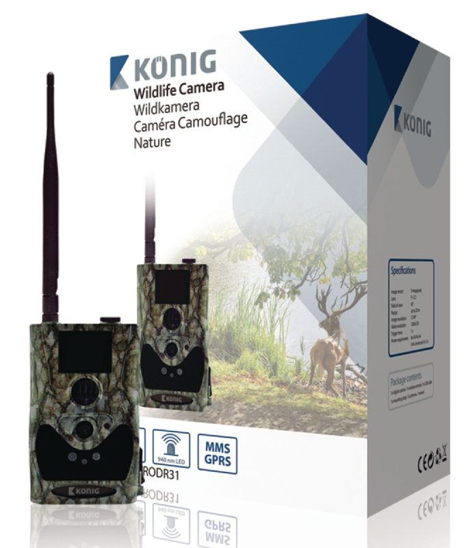König SAS-DVRODR31 - fotopast HD, LCD, GPRS/MMS/email