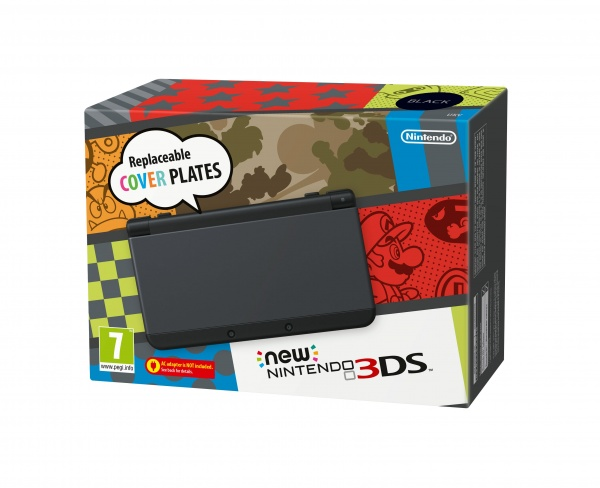 3DS - New Nintendo 3DS Black