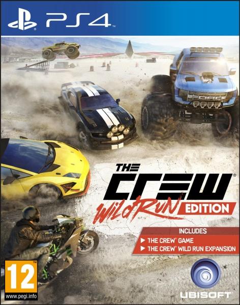 PS4 - The Crew: Wild Run Edition