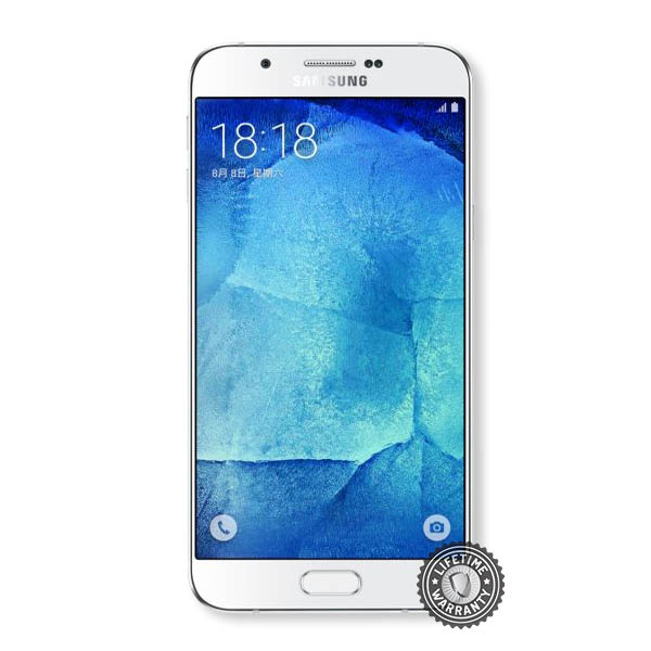 Screenshield™ Samsung Galaxy A8 Tempered Glass protection