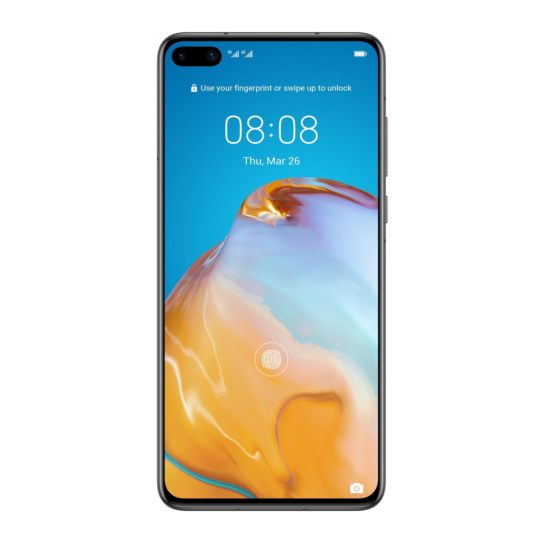 Huawei P40, 8GB/128GB, Black (HMS)