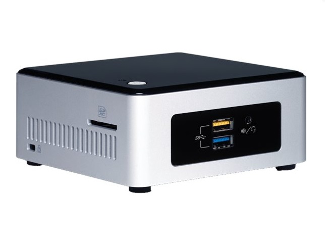 "INTEL NUC NUC Pinnacle Canyon/Kit NUC5PPYH/Pentium N3700/2.5"" SATA SSD/HDD/Wifi"