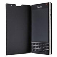 BlackBerry flipové pouzdro kožené pro BlackBerry Passport, černá