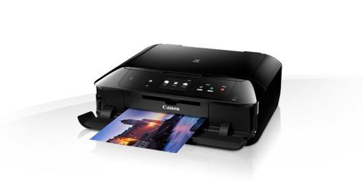 Canon PIXMA MG7750 - PSC/Wi-Fi/AP/NFC/LAN/PotiskCD/Duplex/USB/PictBridge black +GP501