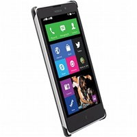 Krusell zadní kryt MALMÖ TEXTURECOVER pro Nokia Lumia 830, černá