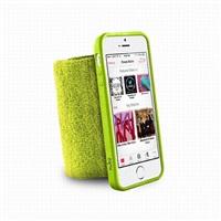 Puro sportovní náramek s rámečkem pro iPhone 5/5S Lime Green