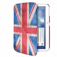 "Puro stojánkové pouzdro s magnetem ""ZETA SLIM"" pro SAMSUNG GALAXY TAB 3 10.1"", vlajka UK"