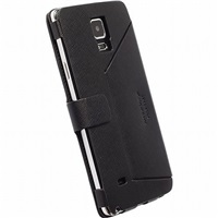Krusell flipové polohovací pouzdro MALMÖ FLIPCASE STAND pro Samsung Galaxy Note 4 (SM-N910), černá