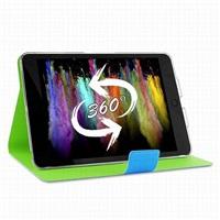 """Puro stojánkové pouzdro s magnetem """"BI-COLOR 360°"""" pro iPad mini Retina, modrá/zelená"""