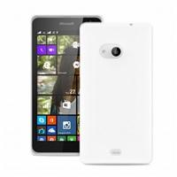 """Puro zadní kryt pro Microsoft Lumia 535 ULTRA-SLIM """"0.3"""" s fólií na displej, transparentní"""