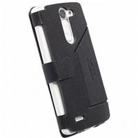 Krusell flipové pouzdro MALMÖ FlipWallet pro LG D331 L Bello, černá