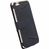 Krusell flipové polohovací pouzdro MALMÖ FLIPCASE STAND pro Apple iPhone 6 Plus, černá