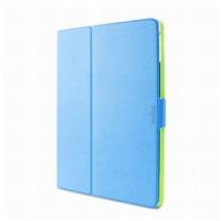 """Puro stojánkové pouzdro s magnetem """"BI-COLOR 360°"""" pro iPad air, modrá/zelená"""