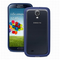 Puro kryt Clear pro Samsung Galaxy S4 (i9505), tmavě modrá