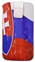 Aligator pouzdro FRESH vlajka SK pro Apple iPhone a jiné (125x70x10)
