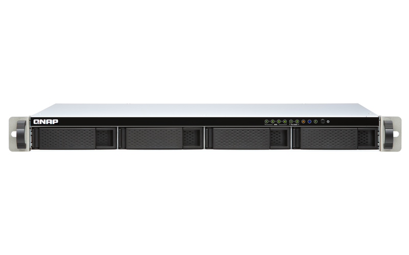 QNAP TS-451DeU-2G (2C/Celeron J4025/2,0-2,9GHz/2GBRAM/4xSATA/2xM.2/ 2x 2,5GbE/2xUSB2.0/2xUSB3.2)