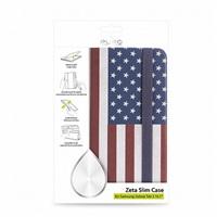 "Puro stojánkové pouzdro s magnetem ""ZETA SLIM"" pro SAMSUNG GALAXY TAB 3 10.1"", vlajka USA"