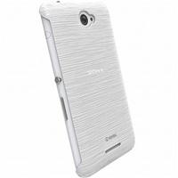 Krusell zadní kryt FROSTCOVER pro Sony Xperia E4/E4 Dual, bílá