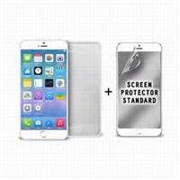"""Puro ochranný rámeček """"Bumper Cover"""" pro iPhone 6 Plus s ochrannou fólií, bílá"""