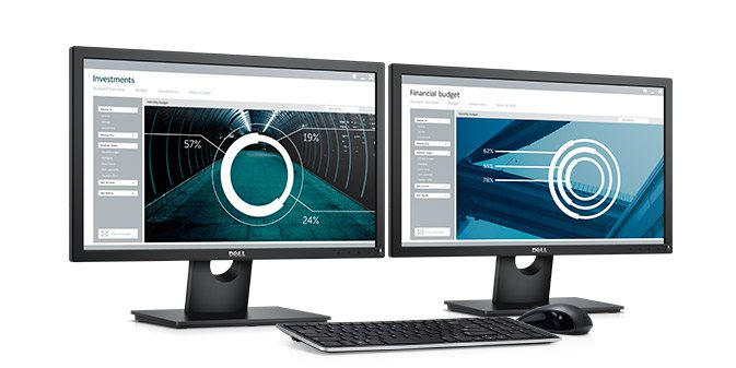 "DELL E2216H 21,5"" WLED 1920x1080/1000:1/5ms/VGA/DP/cerny"