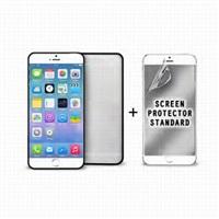 "Puro ochranný rámeček ""Bumper Cover"" pro iPhone 6 s ochrannou fólií, černá"