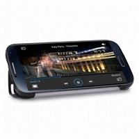 Puro polohovací flipové pouzdro Zeta pro Samsung Galaxy S4 (i9505), černá