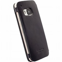 Krusell flipové pouzdro KIRUNA FLIPCASE pro HTC ONE M9, černá