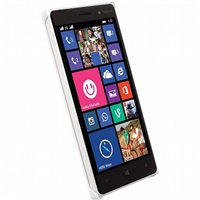 Krusell zadní kryt MALMÖ TEXTURECOVER pro Nokia Lumia 830, bílá