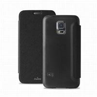 Puro flipové pouzdro pro Samsung Galaxy S5 mini s přihrádkou na kartu, černá
