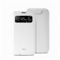 Puro pouzdro VIEW Slim Essential pro Samsung Galaxy S4, bílá