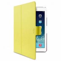 "Puro stojánkové pouzdro s magnetem ""BI-COLOR 360°"" pro iPad air, žlutá/růžová"