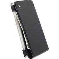Krusell kožené pouzdro KALMAR WALLETCASE pro LG G3, černá