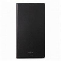 Puro flipové pouzdro s přihrádkou na kartu pro Sony Xperia M4 Aqua, černá