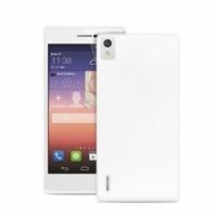 """Puro zadní kryt pro Huawei P8 ULTRA-SLIM """"0.3"""" s fólií na displej, transparentní"""