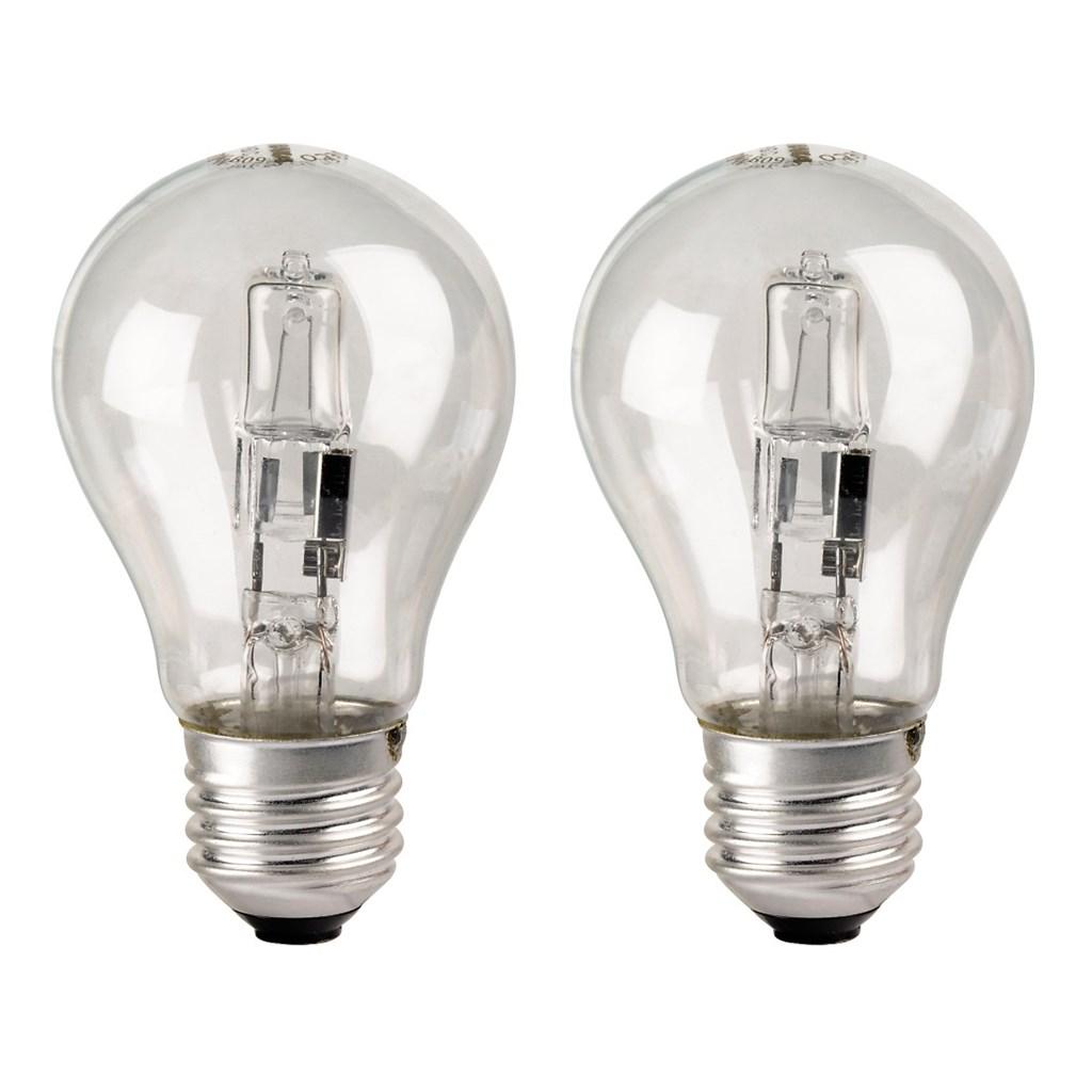 Xavax halogenová žárovka, 230 V, 28 W (=37 W), E27, teplá bílá, 2 ks v krabičce