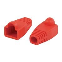 Valueline ochranný kryt konektoru RJ45, červený 10 ks - VLCP89900R*