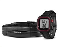 Garmin Forerunner 25 HR Black/Red, bez TOPO map