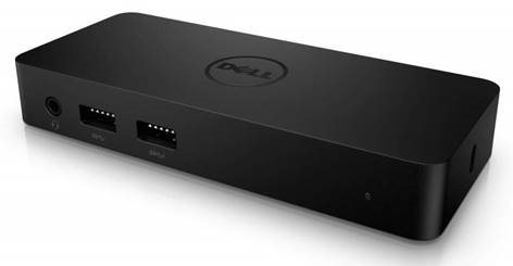 Dell dokovací stanice D1000 USB 3.0 (pro max. 2 monitory)