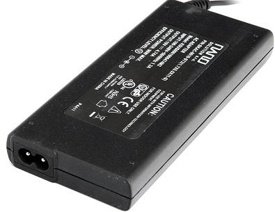 oem AC adapter 90W slim, 19V, 4.74A, 2 pin, bez napájecího kabelu, černý pro ntb Acer bez šnůry