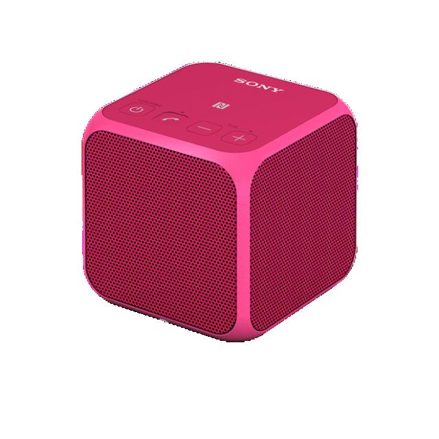 SONY SRS-X11 Přenosný bezdrátový reproduktor s technologií Bluetooth® - Pink
