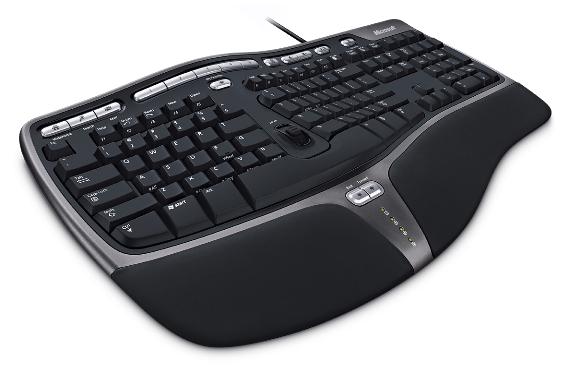 Microsoft Natural Ergonomic Keyboard 4000, CZ