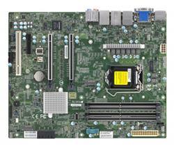 SUPERMICRO MB LGA1200 (Xeon W-12xx, core), W480,4xDDR4,4xSATA3,2xM.2,3xPCIe3.0 (x16/8/4),HDMI,DP,DVI,Audio,2x LAN,IPMI
