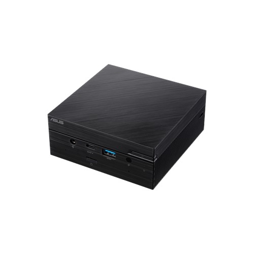 """ASUS PC PN62 - i7-10510U, bez RAM, M.2 + 2,5"""" slot, intel HD, WiFi, BT, DP, bez OS, černý"""