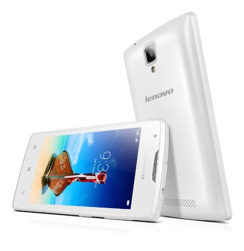 "Lenovo Smartphone A1000 Dual SIM/4,0"" TN/800x480/Quad-Core/1,3GHz/1GB/8GB/5Mpx/3G/Android 5.0/White"