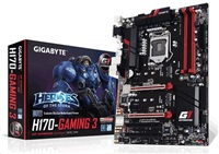 GIGABYTE MB Sc LGA1151 H170-Gaming 3, Intel H170,