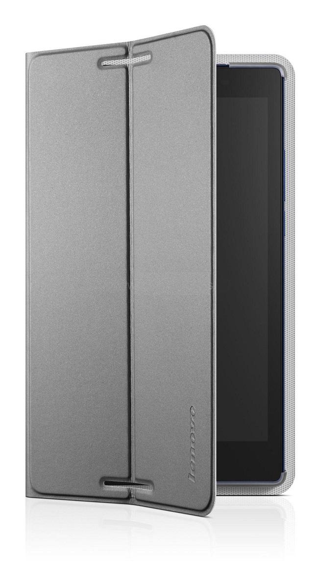 Lenovo IdeaTab 2 A8-50 Folio Case and Film (pouzdro+folie) - šedá