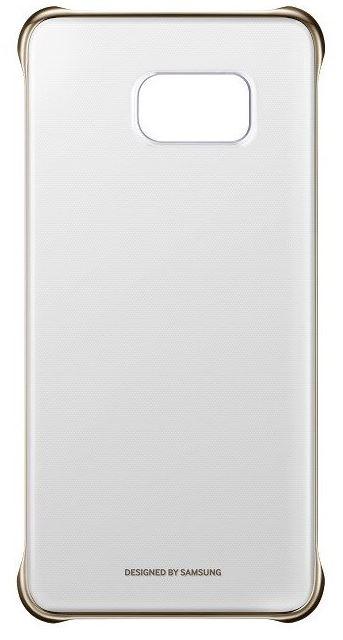 Samsung kryt Clear Cover EF-QG928C pro Galaxy S6 edge+ (SM-G928F), zlatá