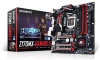 GIGABYTE MB Sc LGA1151 Z170MX-Gaming 5, Intel Z170, 4xDDR4, VGA, mATX