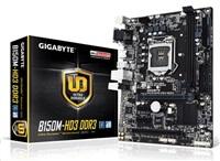 GIGABYTE MB Sc LGA1151 B150M-HD3 DDR3, Intel B150, 2xDDR3, VGA, mATX